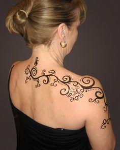 shoulder swirls