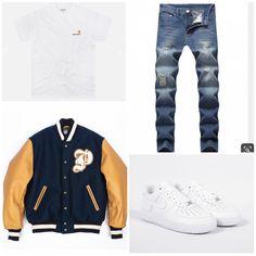 Tomboy Fashion, Men's Fashion, Fashion Outfits, Swag Outfits, Casual Outfits, Men Casual, Sneaker Outfits, Mens Attire, Men Clothes