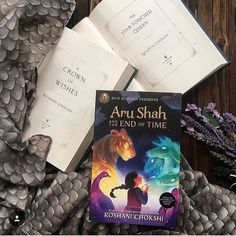 Have you e texted to win a gorgeous ARC of Aru Shah and the end of Time??? You can enter over on @bookiemoji account today!!!