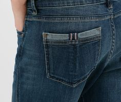 ZARA backpocket detail