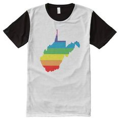 (west virginia rainbow All-Over print shirt) #Boi#ChromatosisAsyrum#ChromatosisLove#CivilRights#CivilUnion#Closet#ComingOut#Equality#GayPride#Glbt#HomosexualTransexual#LesbianBisexual#LgbtLogo#Morgantown#Omnisexual#RainbowQueer#StateShape#Tourism#Tourist#Transgender#TravelAgent#UnitedStatesOfAmerica#UsaShapes#VectorOutline#WestVirginia#WvCharleston is available on Funny T-shirts Clothing Store   http://ift.tt/2atEM9d