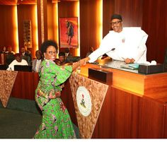 Welcome To Online News 411: Buhari Confirm Mrs Winifred Oyo-Ita As New Head Of...