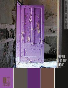 Break Down the Door | Color Blocks Design