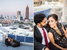 Photographs : Cacao and Ventanas Engagement Photography