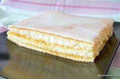 Prăjitură simplă cu gem - rețeta rapidă și ieftină | Savori Urbane Quick Bread, Vanilla Cake, Cheesecake, Muffin, Good Food, Ice Cream, Sweets, Desserts, Bun Bun
