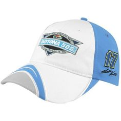 NASCAR Chase Authentics Matt Kenseth Ladies 2012 Daytona 500 Champion Adjustable Hat - Light Blue/White by Football Fanatics. $24.95. Chase Authentics Matt Kenseth Ladies 2012 Daytona 500 Champion Adjustable Hat - Light Blue/WhiteOne size fits mostQuality embroideryImportedOfficially licensed NASCAR product93% Acrylic/7% SpandexAdjustable hook and loop fastener strapStructured fit93% Acrylic/7% SpandexStructured fitQuality embroideryAdjustable hook and loop fastener str...