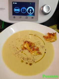 Artischockencreme in Thermomix® Lidl, Thermomix Soup, Cream Recipes, Low Carb Diet, Deli, Pesto, Creme, Food To Make, Veggies