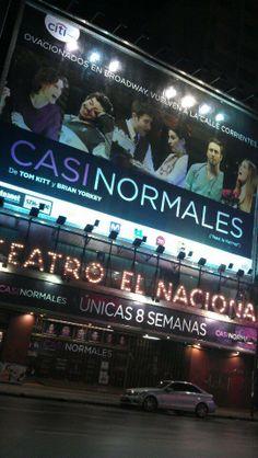 Casi Normales, Teatro Nacional