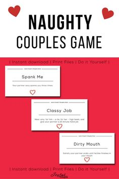 Dirty sex games for couples