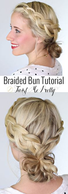 This Lauren Conrad inspired hairstyle is so fresh for spring!  Hop on over to Twist Me Pretty to check out the five minute how-to.