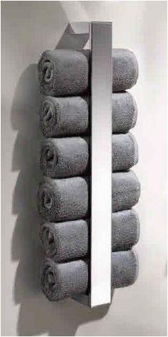 De handdoekhouder serie Edition 11 van Keuco, voor 6 gastendoekjes. Duurzaam, onderhoudsvriendelijk – en bovendien gewoon mooi.