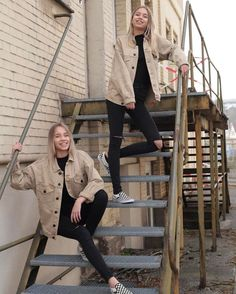 k mentions J'aime, commentaires - Lisa and Lena Lisa And Lena Clothing, Cute Outfits, Casual Outfits, Fashion Outfits, Besties, Lisa Or Lena, Estilo Grunge, Best Friend Goals, Tumblr Girls