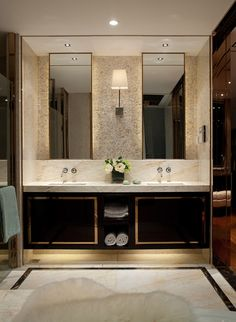 Bathroom, with stone mosaic sheets Bathroom Spa, Bathroom Toilets, Bathroom Renos, Master Bathroom, Washroom, Restroom Design, Bathroom Interior Design, Glamorous Bathroom, Luxury Bathrooms