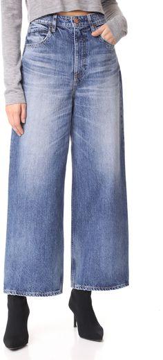 RED CARD Sunrise High Rise Wide Leg Jeans