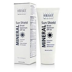 Sun Shield Mineral Broad Spectrum SPF 50 - 40 Minutes Water Resistant - 85g-3oz