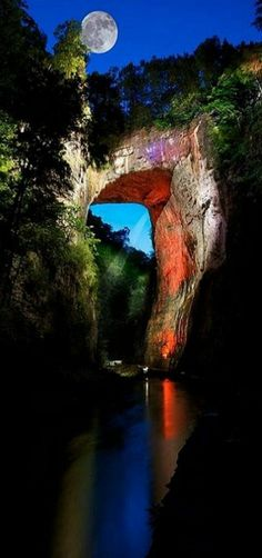 Natural Bridge, Virginia, USA
