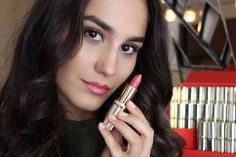 They celebrate Color Riche's 30 anniversary and the Loreal Paris, Your Lips, My Beauty, Best Makeup Products, Blush, Lipstick, Celebrities, Color, Lipsticks