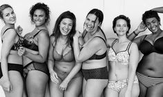Lane Bryant is changing all of that and celebrating real women's bodies! The clothing store recently launched the #ImNoAngel ad campaign & we love it!
