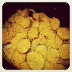 Tiny Painted Fingers: Pork Chops && Cheesy Scalloped Potatoes