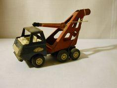 Vintage toy Tonka tow truck. $18.00, via Etsy.