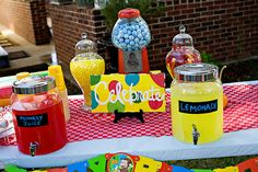 Curious George Monkey Themed Party
