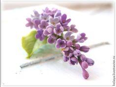 Wedding lilac brooch, bridal brooch, spring flower, spring jewelry, wedding jewelry , bridesmaid brooch