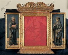 Die Heiligen Benedikt von Nursia un Scholastika