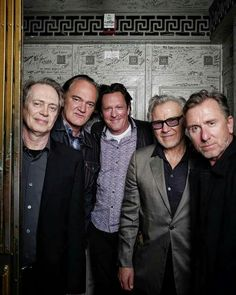 Steve Buscemi, Quentin Tarantino, Michael Madsen, Tim Roth & Harvey Keitel at Reservoir Dogs 25th Anniversary