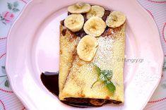 Κρέπες Γαλλικές Αλμυρές & Γλυκές-DIY French Crepes, French Toast, Savory Crepes, Breakfast, Ethnic Recipes, Sweet, Food, Morning Coffee, Candy