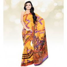 Casual Printed saree for $30