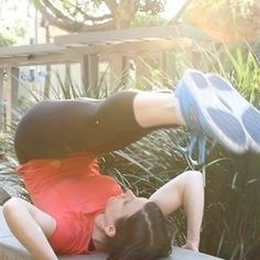 Get Off the Bench and On Your Feet--Best Outdoor Workout Moves (CrossFit Routine). health-fitness fitness excercise flat-abs healthy-diet fitness excercuse ab-challenge ab-workout