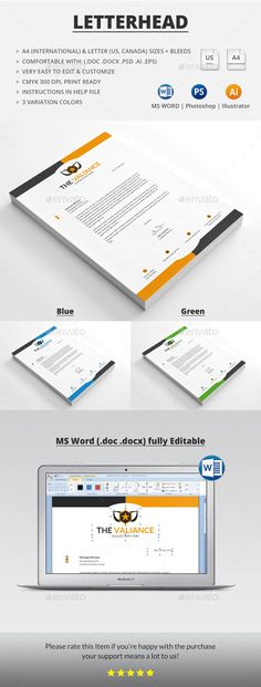 Letterhead design template psd vector eps ai illustrator ms word letterhead design template psd vector eps ai illustrator ms word letterhead design templates pinterest letterhead design ai illustrator and spiritdancerdesigns Gallery