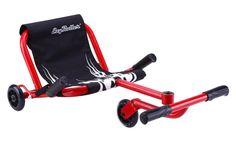 EzyRoller, Three Wheeled Cart with Foot Steering.
