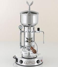 Elektra chrome espresso maker