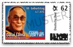 Limited edition of German stamp honoring His Holiness the Dalai Lama