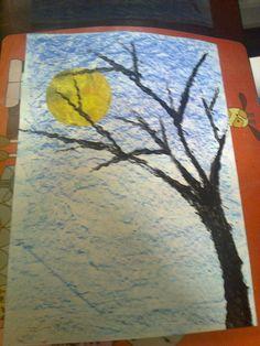 'Zie de maan schijnt door de bomen'.