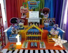 Carolina V's Birthday / Mini beat power rocket - Mini beat power rocket birthday party at Catch My Party Rocket Birthday Parties, Incredibles Birthday Party, 3rd Birthday, Baby Beat, Baby Rocker, Rockers, Ideas Para Fiestas, Fiesta Party, Holidays And Events