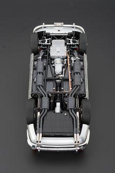 CMC 1/18 Modellauto Ferrari 250GT SWB California Spyder Hardtop