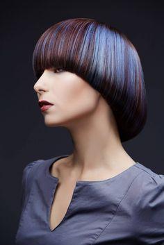 Lavender and Violet hair Creative Hairstyles, Cool Hairstyles, Mushroom Hair, Creative Hair Color, Vibrant Hair Colors, Girl Haircuts, Crazy Hair, Green Hair, Hair Art