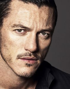 "lukevanski: "" favourite Luke Evans pics (22/?) "" his face is fucking incredible"