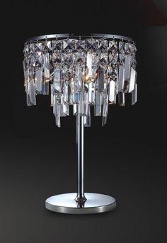 lampe  poser cristal Recherche Google Décoration
