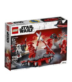 It's battle stations with this well-equipped Elite Praetorian Guard Battle Pack Playset by LEGO! With spinning platforms for fun dueling action, your little LEGO builder can play out fun-filled Elite Praetorian Guard training drills! Lego Star Wars, Star Wars Set, Star Wars Ships, Star Wars Minifigures, Lego Minifigure, Star Trek, Lego Mosaic, Shop Lego, Buy Lego