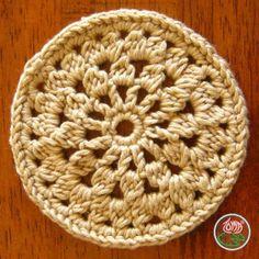 Crocheted Coasters: Flower Power & Flower Wheel « The Yarn Box