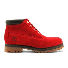 Timberland × Kinetics 4Eyeret Chukka Boots (Red/Black-Gold)