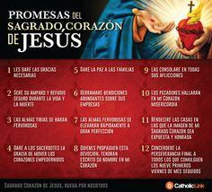 Biblioteca de Catholic-Link - Infografía: Las 12 promesas del Sagrado Corazón de...