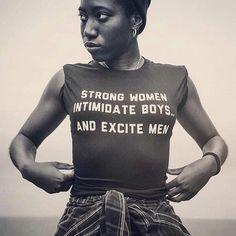 Le t-shirt des femmes fortes qui inspire Alicia Keys Badass Women, Fierce Women, Grunge Style, Women Empowerment, Girl Power, Rihanna, Equality, Black Women, T Shirt