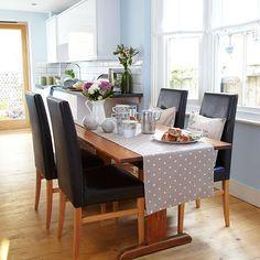 Blue dining room | Decorating