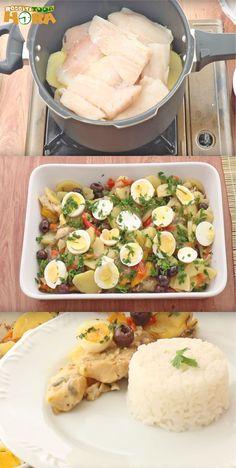 I Want To Eat, Eat Right, Potato Salad, Seafood, Food And Drink, Low Carb, Yummy Food, Pasta, Meals