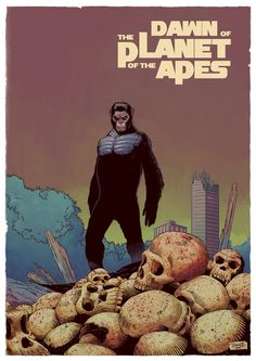 Dawn of the Planet of Apes by DiegoOlortegui on deviantART