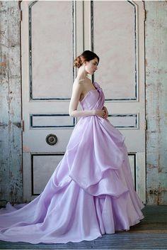 Sareh Nouri Spring 2015 Lavender Wedding Dresses / http://www.deerpearlflowers.com/65-loveliest-lavender-wedding-ideas-you-will-love/